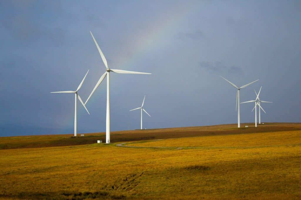 windmills, rainbow, fields-5643293.jpg